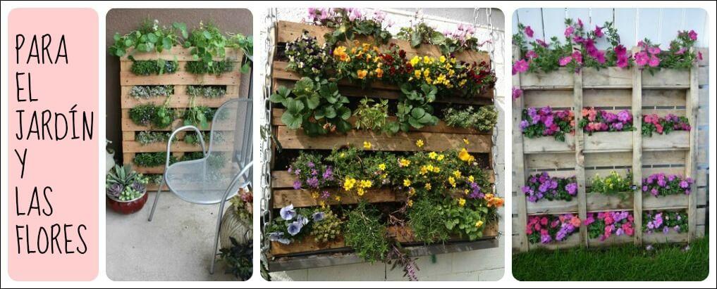 Ideas y cosas para tu hogar con pales y cajas de madera - Reciclar con palets ...