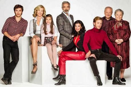 La familia Alcántara en la 15ª temporada.