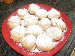 Заварные пирожные рецепт в домашних условиях с кремом