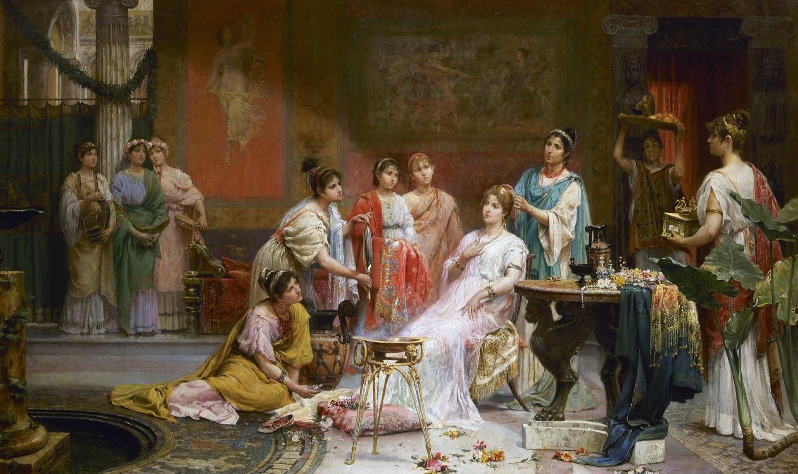Matrimonio Imperio Romano : Almacén de clásicas el arte del maquillaje en la antigua roma