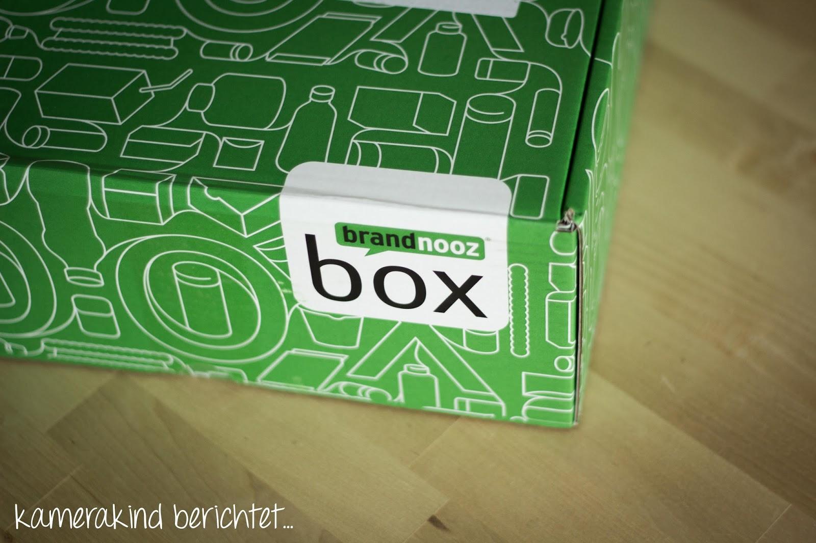 Grün wie immer: Die Brandnooz Box August 2014