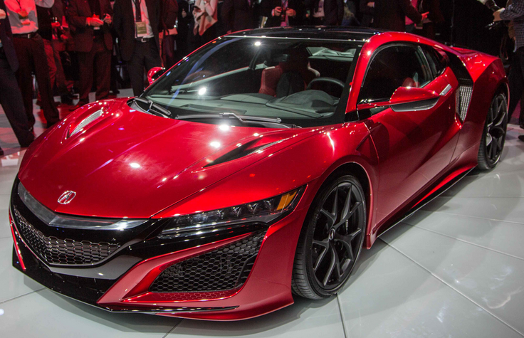 acura nsx 2016 release date auto sporty. Black Bedroom Furniture Sets. Home Design Ideas