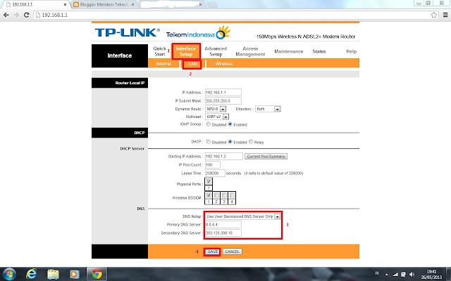 Kunjungi link ini : Telkom Masukkan Username : admin Pasword : admin ...