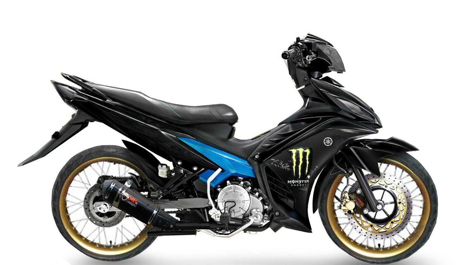 L300 Full Variasi >> Gambar motor modif jupiter mx sederhana 135 king airbrush ala road race thailand 2018
