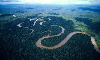 نهر الامازون - اطول انهار العالم