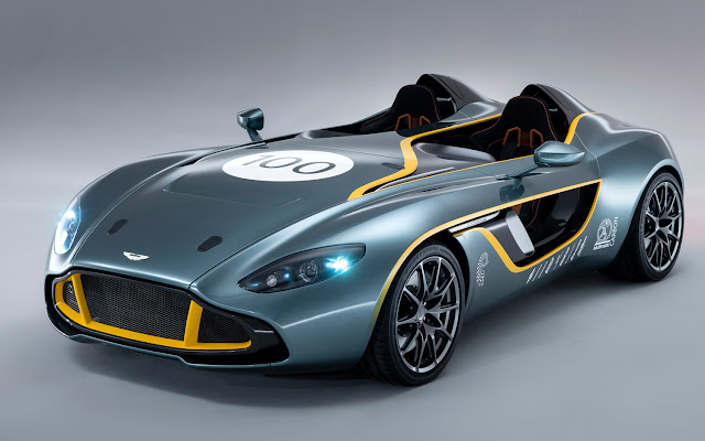 Aston Martin CC100 speedster concept ( Aston Martin CC100 speedster spec,  Aston Martin CC100 speedster features) Aston Martin has released full details for its  Aston Martin CC100 speedster based on the V12 Vantage, following the striking concept's debut at the Nürburgring 24 Hours this weekend where the automaker is competing.