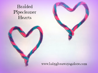 Valentine's Day, Pipecleaner, Mobile, Craft