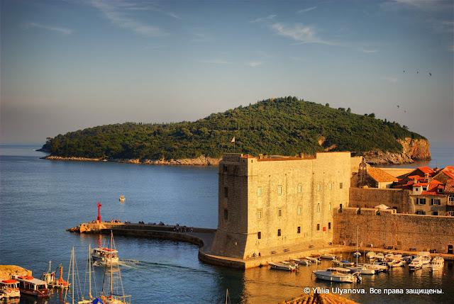 Пристань в Дубровнике