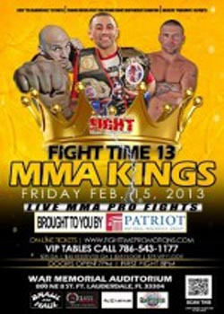 Fight Time 13: MMA Kings (2013)