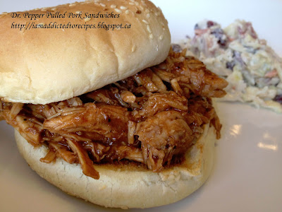 Dr. Pepper Pulled Pork Sandwiches | Addicted to Recipes