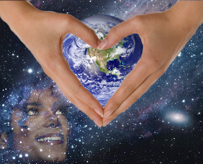 MJ smile earth heart