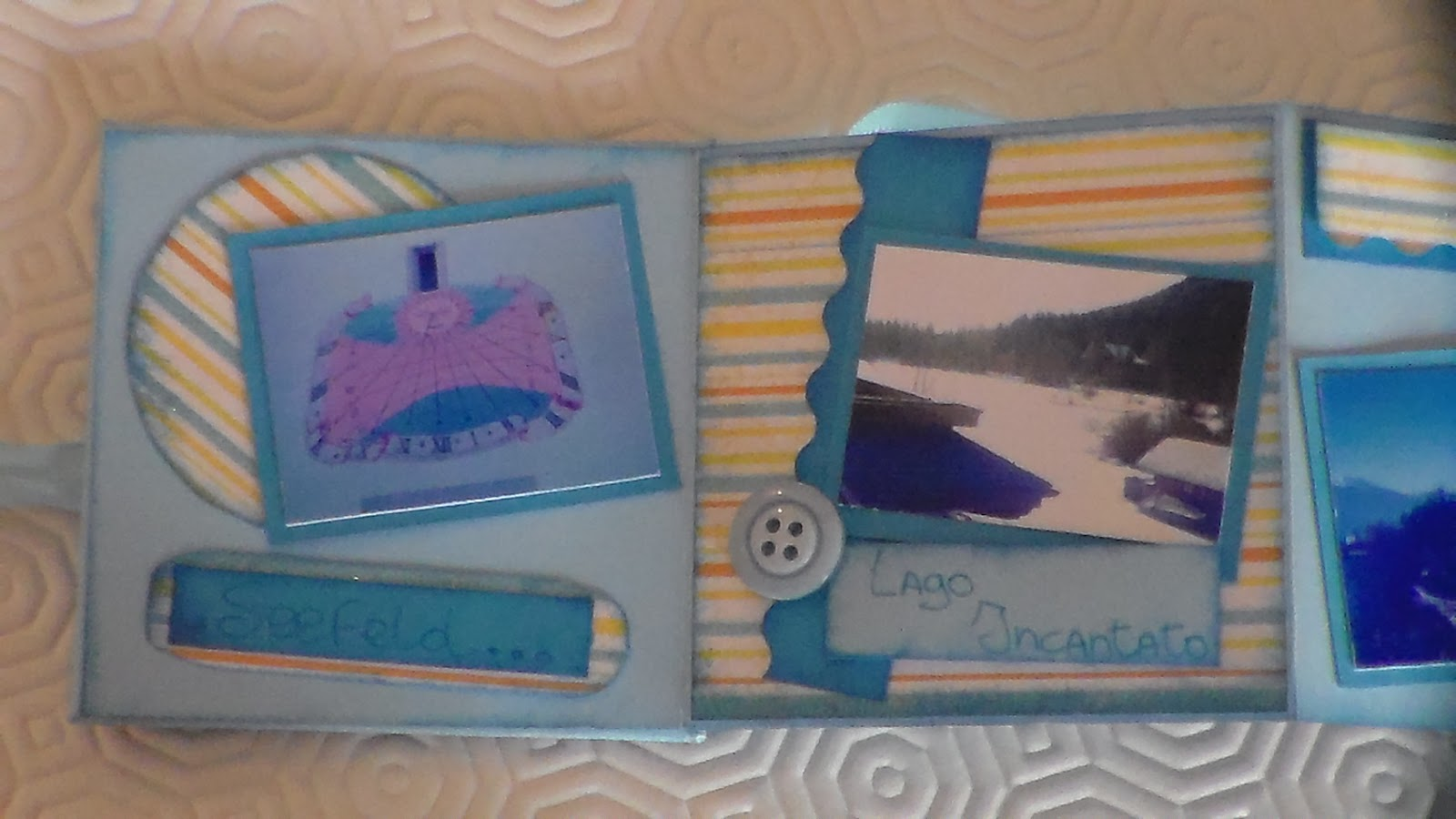 Favoloso Week- ends CREAtivi: Scrapbooking - album a soffietto HB26