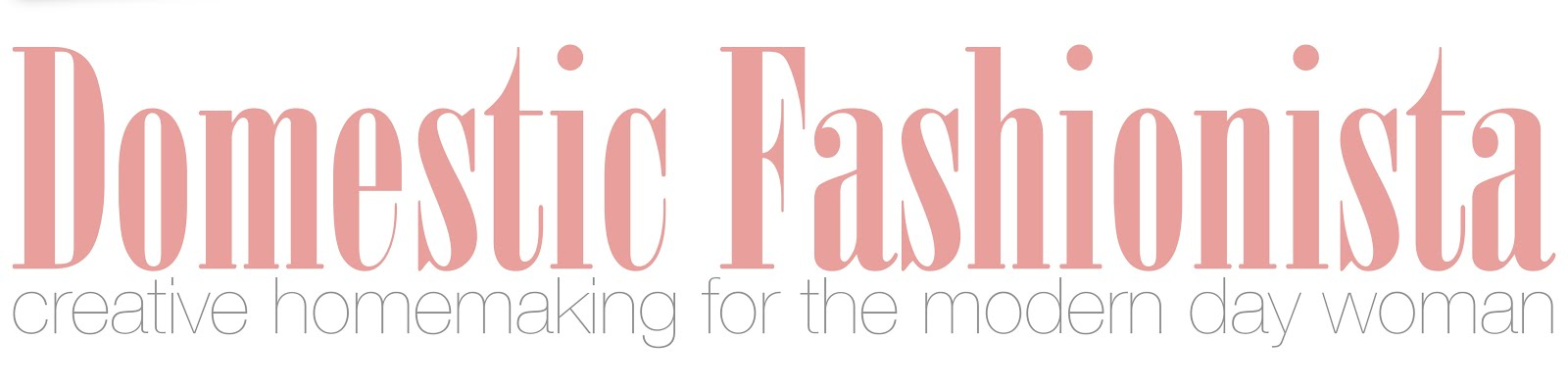 Domestic Fashionista Reviews