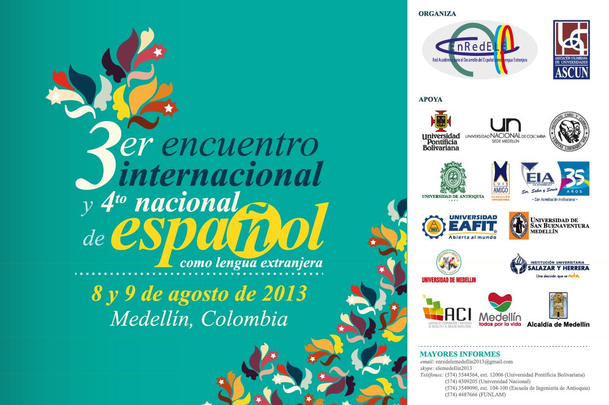 Resultado de imagen para 4to encuentro español como lengua extranjera enredele