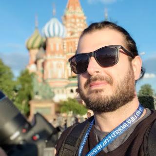 Jornalista Ilicinense na Cobertura da Copa do Mundo