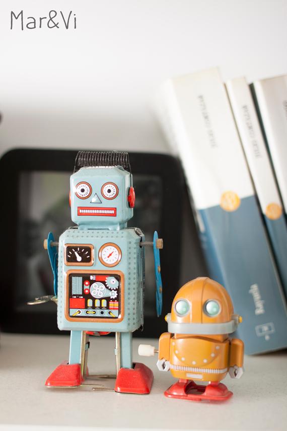 Rincones de mi casa: robots