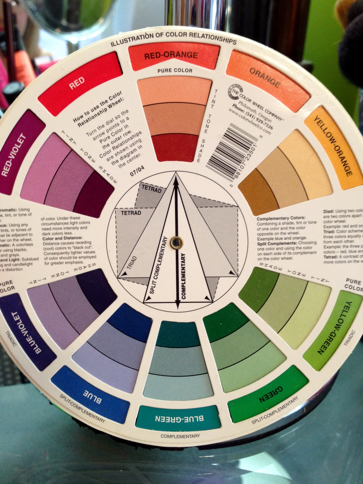 Each Color On The Wheel Has A Complementary And Split Colors Are Directly Across
