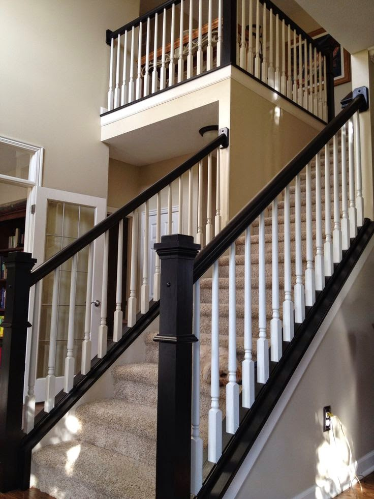 Great Many Homes Built In The Last Couple Of Decades Have The Pre Fab Stair Kits  Where The Spindles Are Not Installed Into The Stair Treads.