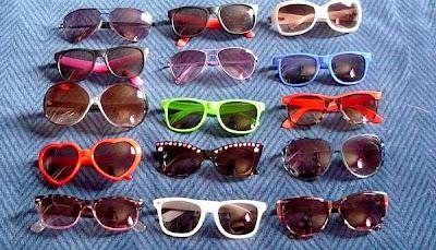 Gafas para deslumbrar