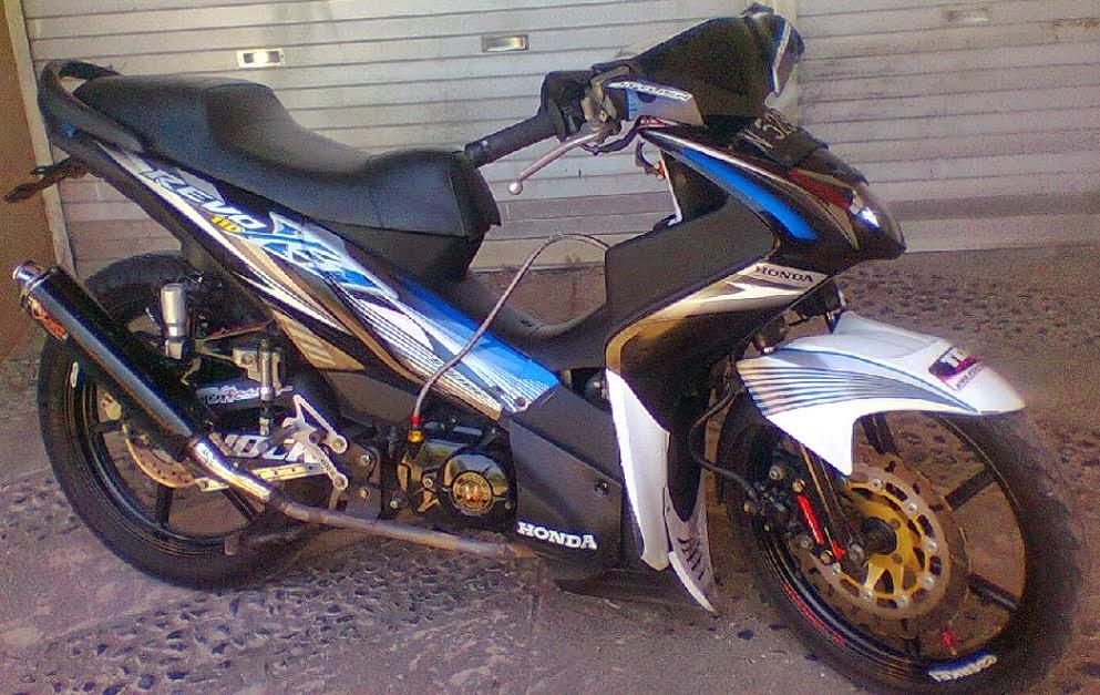 gambar modifikasi motor revo 2014