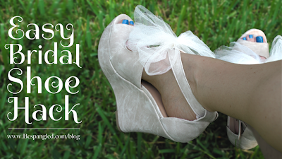 Easy DIY Bridal Shoes!