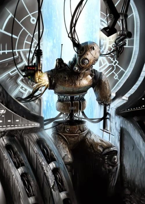 Daniel Conway arcipello deviantart ilustrações fantasia ficção científica