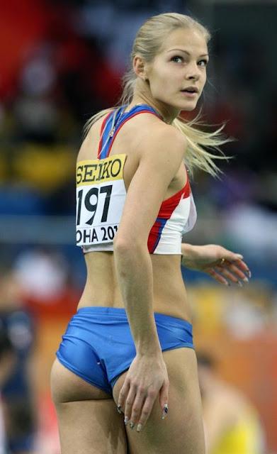 Darya Klishina Olympics 2012