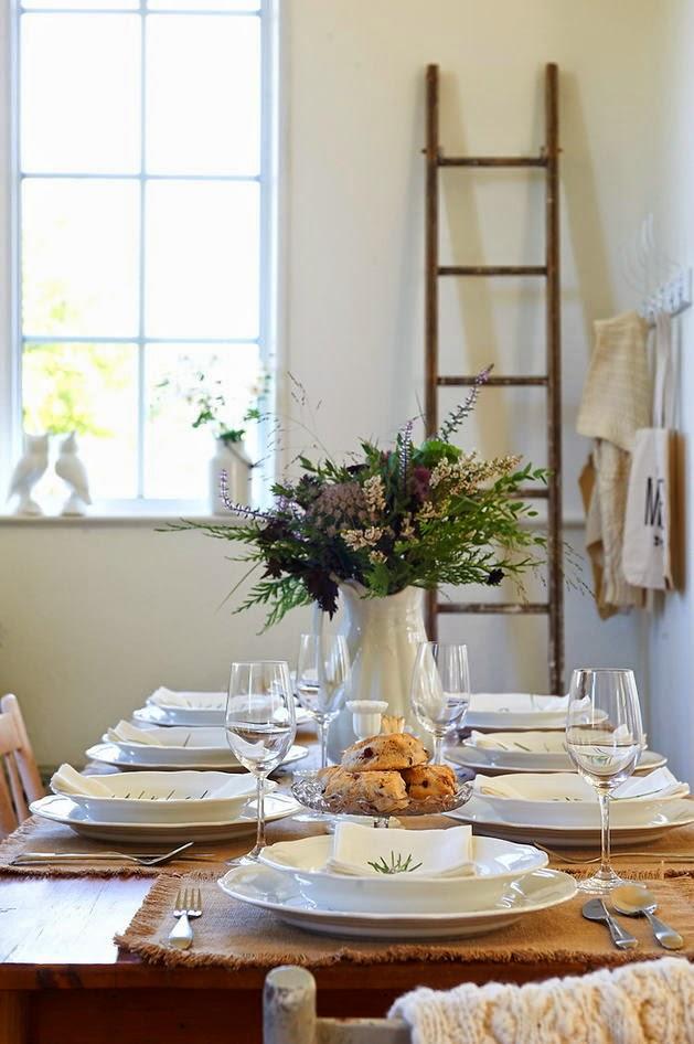inspiration ideas decorativas para tu mesa de navidad