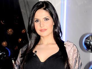 Zarine Khan for promotion of bollywood cinema Housefull 2