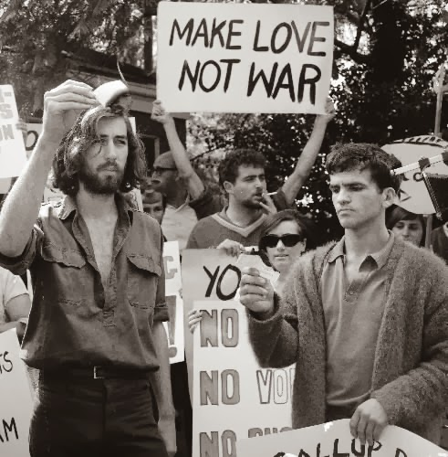 1969 Protesters to the Vietnam War