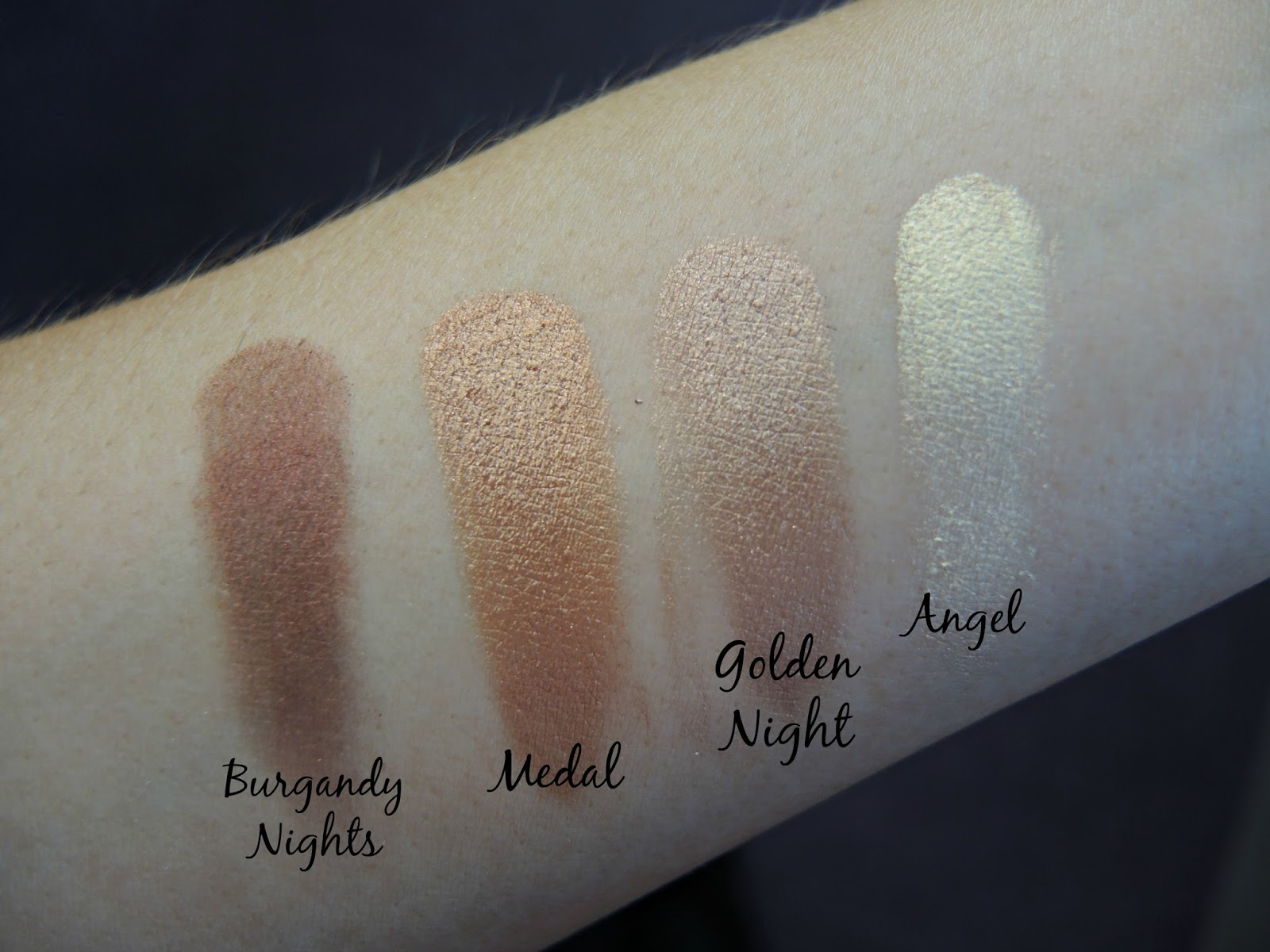 Makeup Revolution Flawless eye shadow palette review and swatches