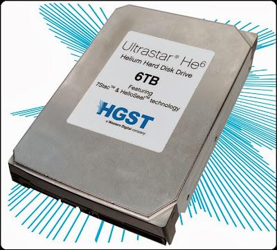 Hard Disk HGST Ultrastar HE6 Kapasitas 6 TB