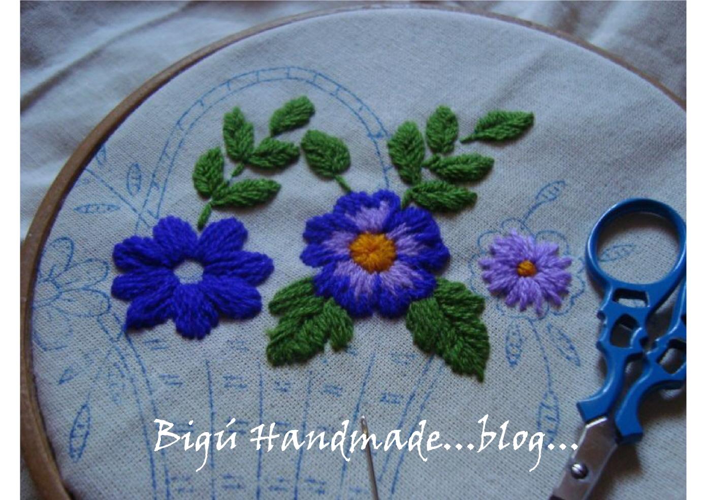 Primero usé el Punto Matiz para las flores (son muy pequeñas por lo