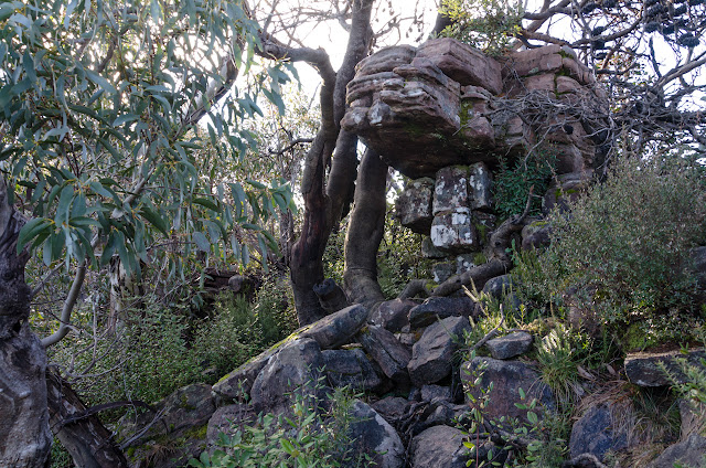 rocks on banksia hill