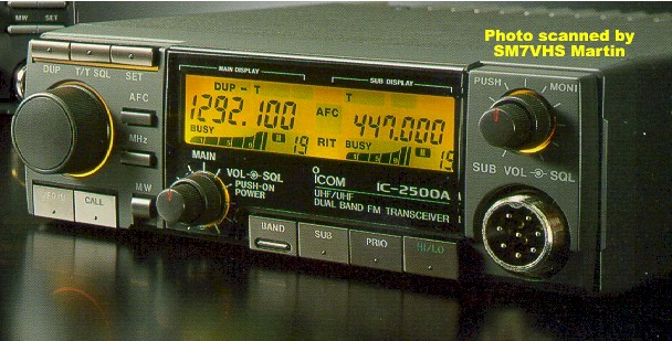 Icom IC-2500A