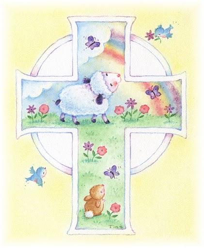dibujo tarjeta infantil bautizo: