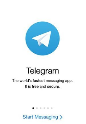 cara mudah blogwalking dan dapat uv, applikasi telegram