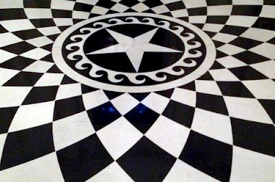 Swan House marble floor