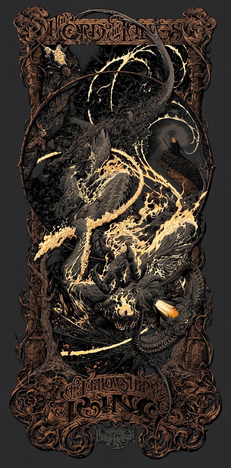 Fellowship Of The Ring Mondo Poster