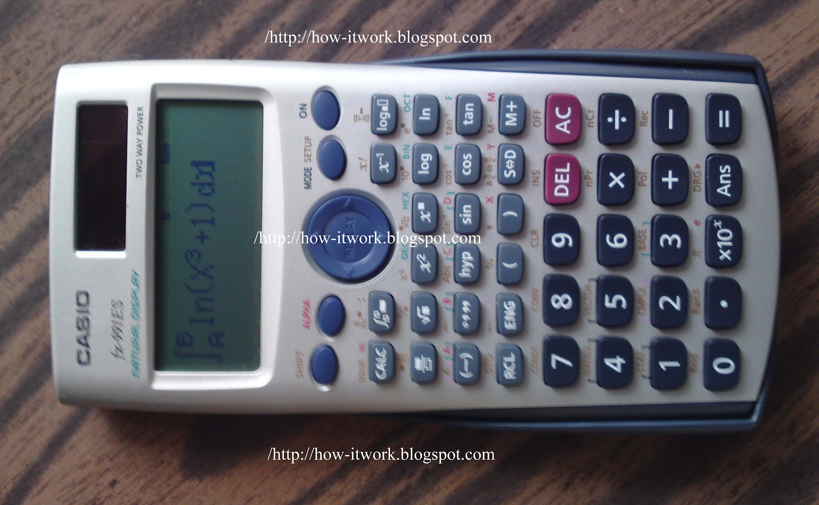 how to find integration in scientific calculator