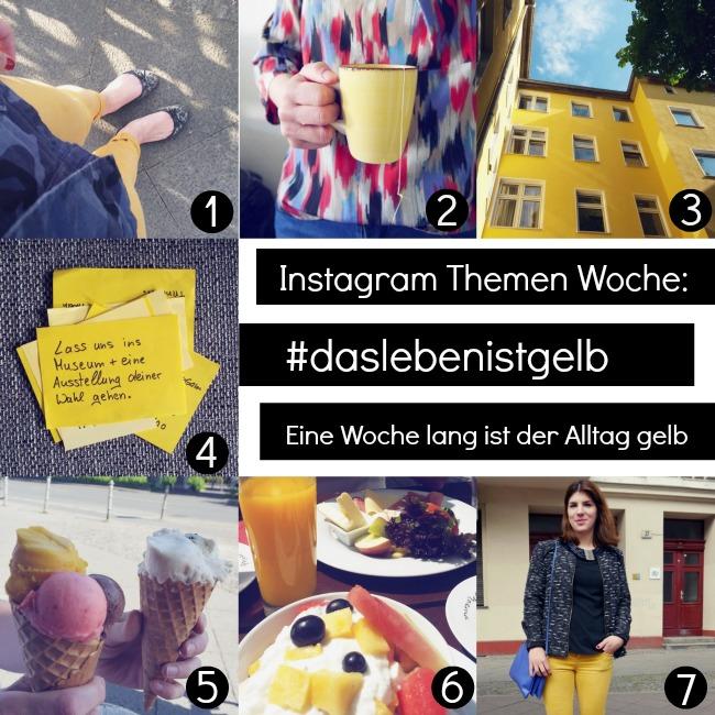 Ausbrechen aus der Routine und den Alltag aus einer neuen Persepektive sehen mit der Instagram Challenge bei der alles im Alltag fotografiert wird was in der Farbe gelb ist