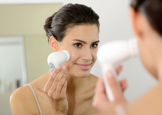 Limpieza facial y depilación de Braun