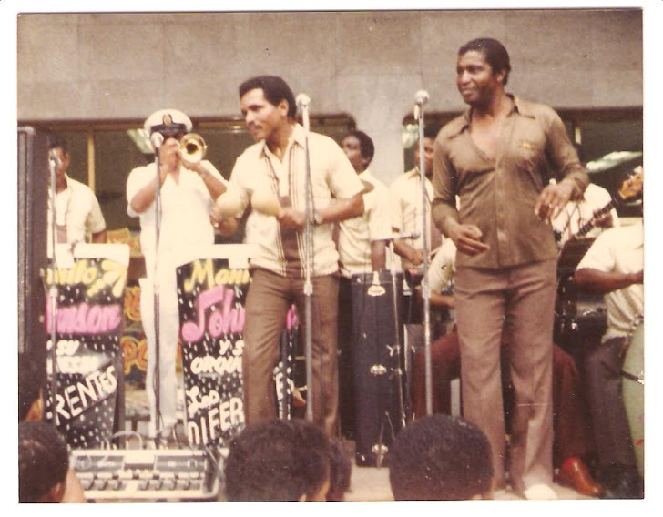 César Rivera, invitado por una Orquesta - Panamá - Año 1985
