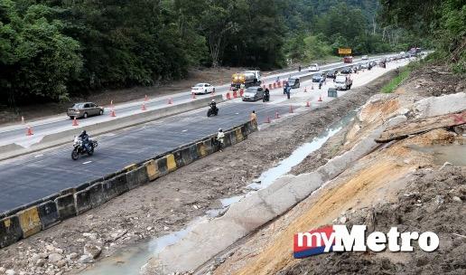 Akhirnya laluan km 52.4 Lebuhraya Kuala Lumpur-Karak dibuka sepenuhnya