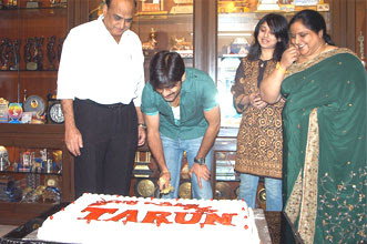 Tarun celebrate his birth day