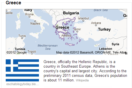 an analysis of greece a country in southeastern europe