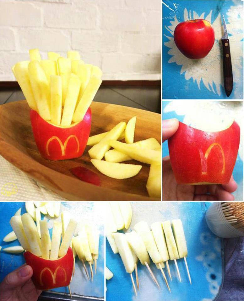 """Cocina a lo boricua: ideas creativas """"manzanas fritas"""""""