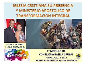 IGLESIA CRISTIANA SU PRESENCIA, QUITO ECUADOR
