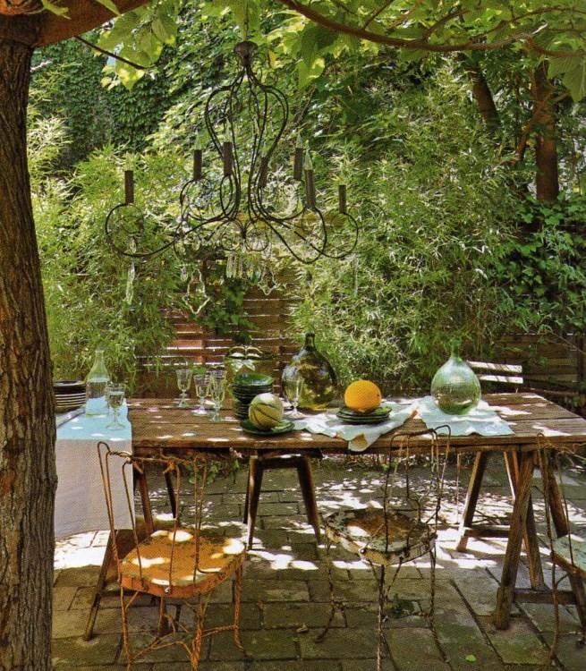Estilo rustico nuevos patios rusticos - Patios rusticos ...