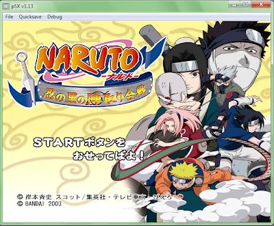 Naruto Shinobi no Sato no Jintori Kassen Ps 1 No Emulator ...